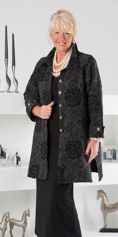 Kasbah black/grey jacquard jacket