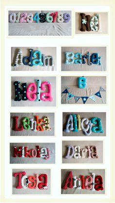 Miękkie literki i cyferki ;)  Kliknij w zdjęcie, aby zobaczyć więcej!