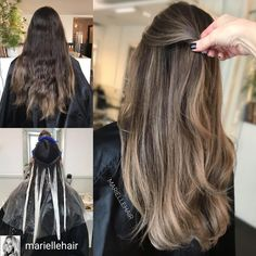 Hair Color And Cut, Brown Hair Colors, Mom Hairstyles, Pretty Hairstyles, Brown Hair Inspiration, Hair Foils, Ombre Blond, Gorgeous Hair Color, Hair Color Techniques