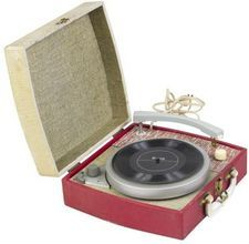 The Record Player...carried it anywhere you wanted to...played LP's & 45's vinyl records