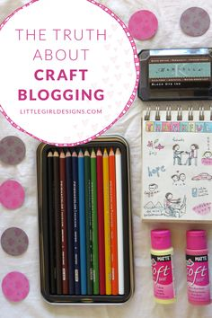 Before you get discouraged because your craft projects don't measure up to Pinterest, you need to know the truth about craft blogging. littlegirldesigns.com