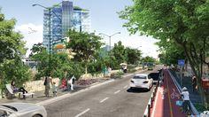Projeto Rio La Piedad e Cidade Esportiva, Taller 13 Arquitectura Regenerativa. Cidade do México, 2013.