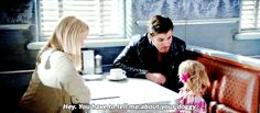 Killian and Alexandra in 6x03 - who would have thought that the fearsome Captain Hook would be a natural with children ♡