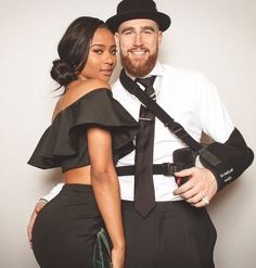 Football player, Travis Kelce and news anchor, Kayla Nicole Couple Goals Relationships, Relationship Goals Pictures, Mixed Couples, Couples In Love, Lgbt, Biracial Couples, Travis Kelce, Black Woman White Man, Black Women