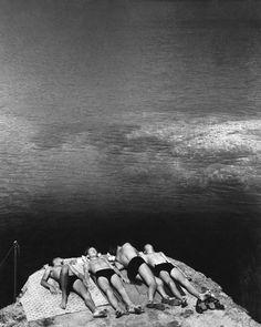 """Herbert LIST :: """"Dreaming in the Sun"""" / Portofino, Liguria, Italy, circa 1936"""