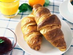 Croissants from scratch are made a little easier with the help of your food processor. It mixes and kneads the ingredients into a smooth dough for you to work with. | CDKitchen.com