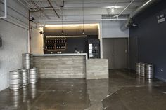 Begyle Brewing Company , eco Tasting Room , sustainable beers, sustainable alcohol, bar design, recycled materials, moss design