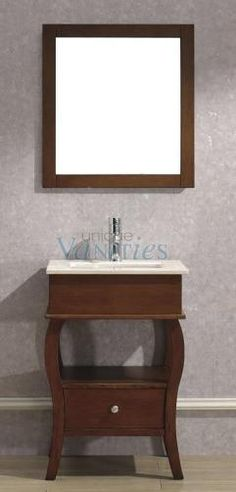 Beautiful 24 Bathroom Vanity Cabinet with Sink