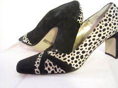 Women's High Heels Pumps Cheetah// by ARubyInTheRough on Etsy, $74.00
