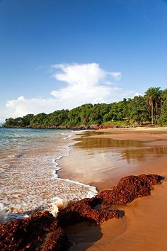 rich sands - Sierra Leone  Please, don't ruin the beaches with sand mining!