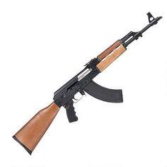 "Century Arms Zastava N-PAP AK-47 Semi Auto Rifle 7.62x39mm 16"" Barrel Stamped Receiver 30 Round Magazine Wood Stock"