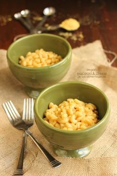 I just ate this and it was amazing. A bowl of dairy-free comfort: vegan macaroni and cheese.