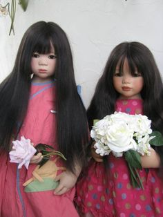 Shilin and Anna Lu. Beauties from Annette Himstedt / Collectible Doll Annette Himstedt / Beybiki. Photo Dolls. Clothes for dolls