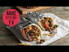 Χοιρινά σουβλάκια με πανσέτα Επ.36 | Kitchen Lab TV - YouTube Side Dishes, Tacos, Mexican, Homemade, Ethnic Recipes, Food, Recipes, Home Made, Diy Crafts