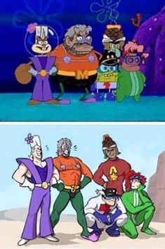 See more 'JoJo's Bizarre Adventure' images on Know Your Meme! Jojo's Bizarre Adventure, Jojo Bizarro, Cartoon Crossovers, Jotaro Kujo, Spongebob Memes, Jojo Memes, Anime Crossover, Joko, Character Art