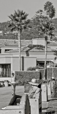 La Jolla Shores boardwalk photography, San Diego.