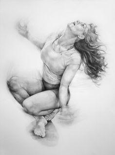 Dance drawings 2013 by Karolina Szymkiewicz, via Behance