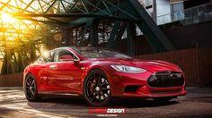 Tesla Model S Coupe Unprecedented Tesla Beuty