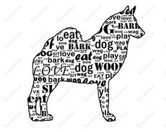 Got Akita Dog Breed Silhouette Graphic Decal Sticker 01