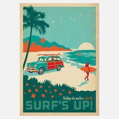 Surf's Up! Print