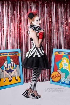 Skirt Striped Skirt Peplum Peplum in Black by TrappedInTimeDesigns