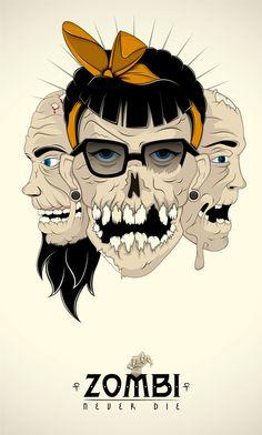 Zombie -NeverDie- Art