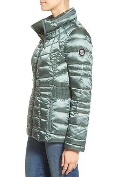3d5a81d9e80eb Bernardo Packable Down   PrimaLoft® Fill Hooded Jacket (Regular   Petite)