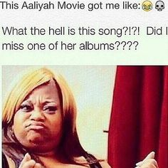 Social Media Ravages Aaliyah Biopic on Lifetime; the Funniest Memes ❤ liked on Polyvore featuring quotes