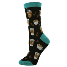 Function Wolves Howling At The Moon Socks Funny Novelty pizza food mountain