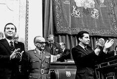 Alfonso Osorio, Manuel Gutiérrez Mellado y Adolfo Suárez