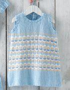 Book Baby 72 Spring / Summer | 26: Baby Dress | White / Light jeans / Very light beige / Sky blue