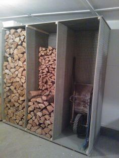 zásobník dřeva z desek CETRIS HOBBY