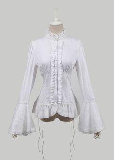 Gothic Pure Cotton Jacquard Female T-shirt Steampunk Lace Alternative Measures