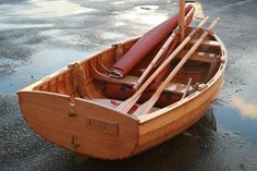 7' Pram Dinghy - Kyle Paternoster - Boat Building Academy