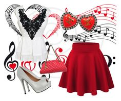 """""""Your Love For Me / Your Love For Music."""" by barbieluvsfashion80 ❤ liked on Polyvore featuring Chanel"""