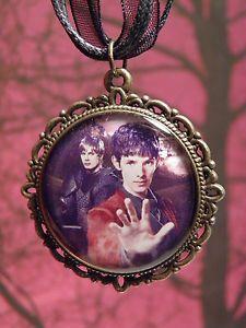 Merlin & Arthur Necklace, Colin Morgan, Bradley James, Merlin BBC