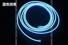 汽车LED装饰灯 气氛灯 EL冷光线 带边 冷光片车内氛围灯改装 夹式-淘宝网全球站