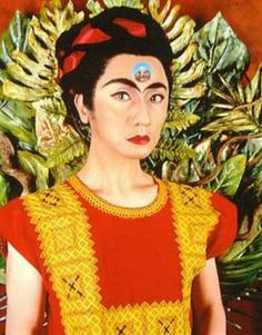 Yasumasa Morimura - The Art of Self-Portaiture in a Post-Modern Global Japan  Morimura, a Japanese man, further challenges identity. Morimura inserts his own face into famous works and transforms himself, as well as the original subject. For example, this portrait of Frida Kahlo.  http://outsiderjapan.pbworks.com/w/page/9758570/Yasumasa%20Morimura%20-%20The%20Art%20of%20Self-Portaiture%20in%20a%20Post-Modern%20Global%20Japan