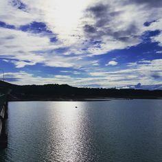 Sky clouds lake freedom