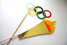Olympic Photo Props