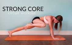 Strong Core Circuit Workout || lushiousLIFTS.com