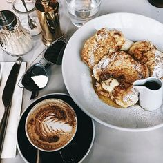 The Best Breakfast Food Goals, But First Coffee, Aesthetic Food, Aesthetic Coffee, Love Food, Cravings, Delish, Food Photography, Coffee Photography