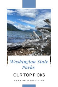 In 2020 we packed up our RV and hit the road all over Washington State! We visited quite a few Washington State parks. Out of the ones we went to in 2020, we give you our top 5 State parks. We chose these parks because of the locations, activities available, and epic views. Pin this for later, and remember you have to book your reservations 9 months ahead, so start planning sooner than later! Washington State Campgrounds, Camping In Washington State, Oregon Beaches, Oregon Coast, Camping Tips, Tent Camping, Great Places, Places To See, Alta Lakes