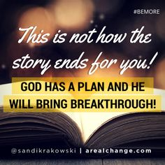 See everything working out! Step into THAT kind of faith today! #BEMORE
