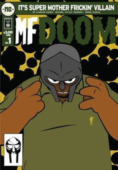 MF DOOM Comic