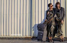 An image from Chanel's spring 2016 campaign