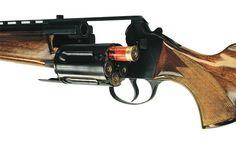 MTs-255. 12 gauge revolving shotgun