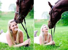 Baltimore Photography 2 Ashley // Senior Pictures at a Horse Farm