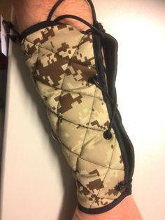 "Barcode Armstulpen ""Bracelet Camp Gladiator"", beige/camouflage, 91341/966, NEU"