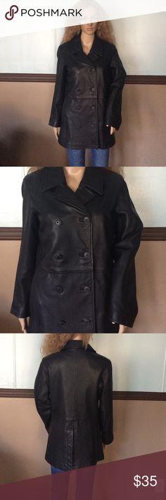 Gap jacket 100% leather Get condition GAP Jackets & Coats